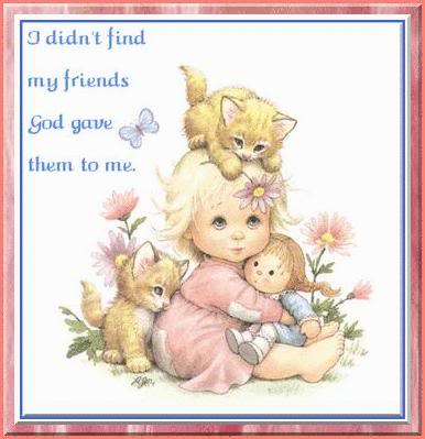I Didnt Find My Friends God Gave Them To Me Our Daily Living